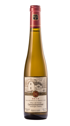 Hidden Bench, Late Harvest, Gewürztraminer, Spätlese, VQA, 375ml, 2013