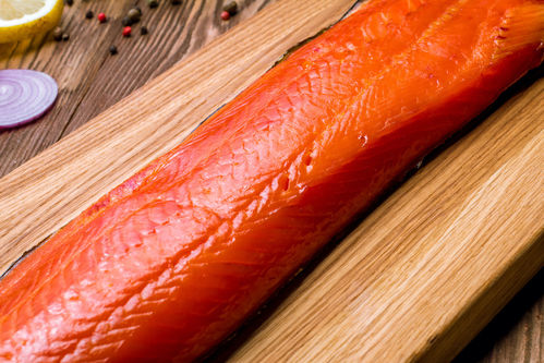 "Sockeye, Canadian Wild, TK, Filet, ""Indian Smoke"""