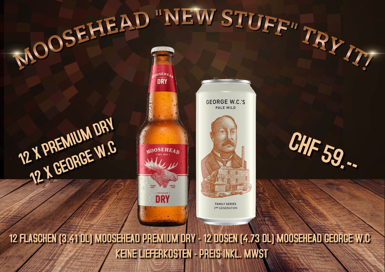 Moosehead New Stuff